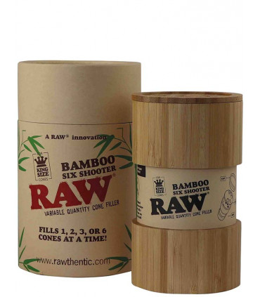 RAW BAMBOO SIX SHOOTER KING SIZE