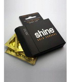 PRESERVATIVOS SHINE GOLD