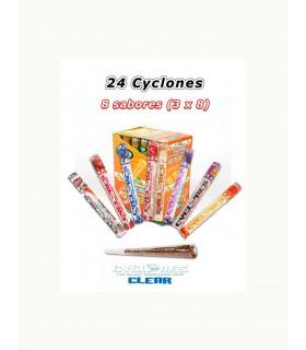 CAJA CYCLONES CLEAR VARIADOS